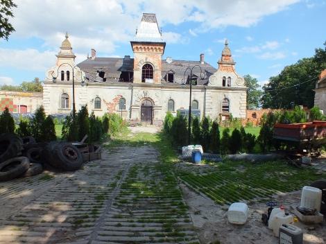 Ruiny pałacu von Kramstów