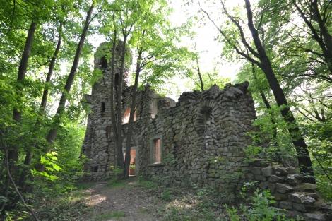 Pałac i nietypowe ruiny